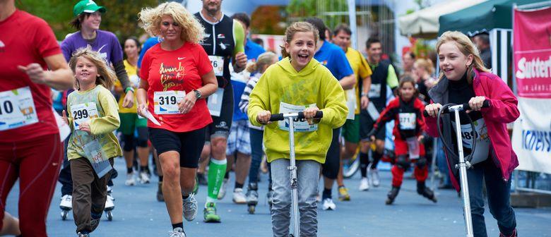Lustenau in Kinderhand - Spielefest und Stundenlauf