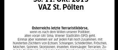 Die letzte EXOTICA Reptilienbörse in St. Pölten? 11. Oktober