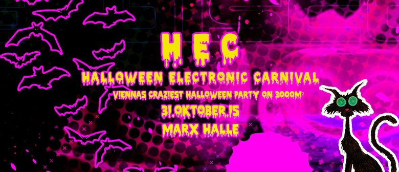 """HEC """" Halloween Electronic Carnival """""""
