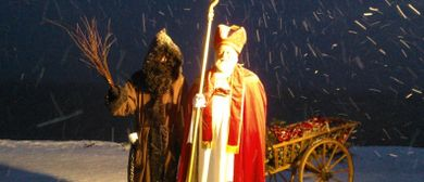Dampfbähnlefahrt zum Nikolaus