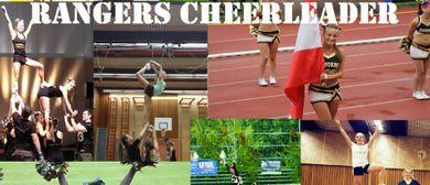 Rangers Cheerleader suchen Verstärkung