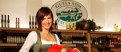 """""""Gutes vom Bauernhof""""- Weihnachtsmarkt"""