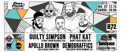 Fear le Funk - Guilty Simpson, Apollo Brown & Phat Kat