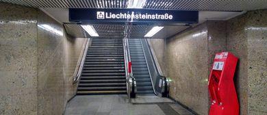 Big Opening Rolltreppe Schottentor