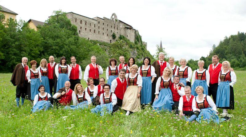 Grenzlandchor Arnoldstein Humoreske - Sah Ein Knab' Ein Röslien Steh'n... - Volksliedchen Und Märchen
