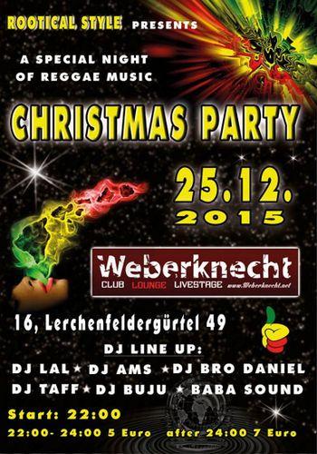 Christmas reggae party ottakring wohintipp