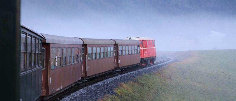 Einstimmung auf 2016 mit der Bregenzerwaldbahn-Museumsbahn