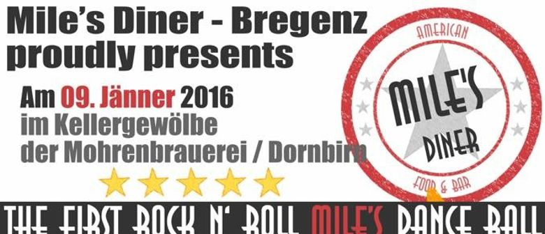 1.Mile's Diner Rock n' Roll Dance Ball - 1 Jahr Mile's Diner