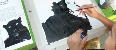 "Art contact project - ""Friday Kitz"""