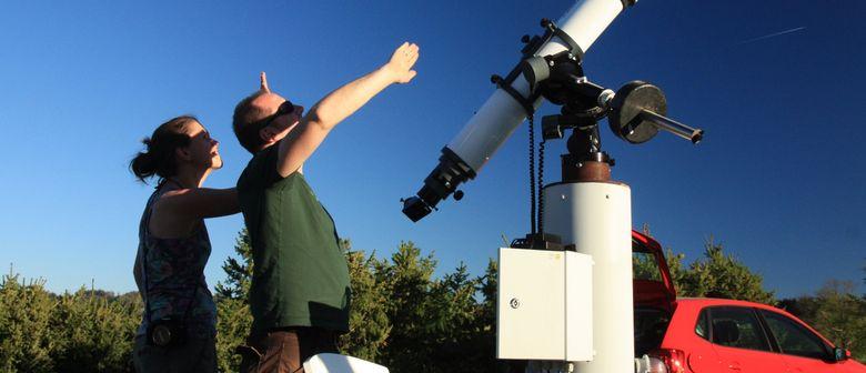 Beobachtung des Merkurtransits
