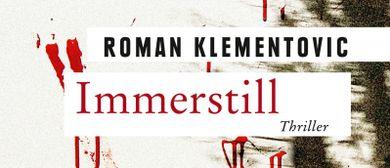 """Buchpräsentation: """"Immerstill"""" von Roman Klementovic"""