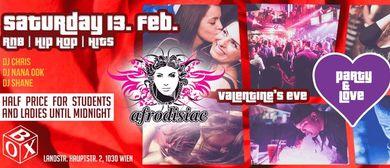 Party & Love + Afrodisiac | VALENTINE'S EVE