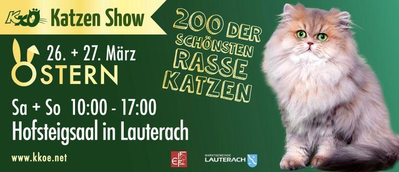 Internationale Katzenausstellung in Lauterach