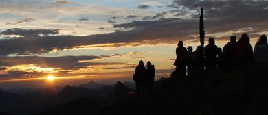 Sonnenaufgangswanderung auf das Zaferhorn
