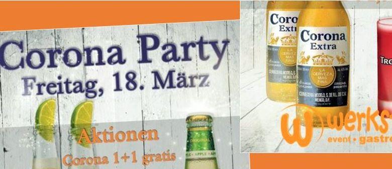 GROSSE CORONA PARTY @ WERKSTATT IMST