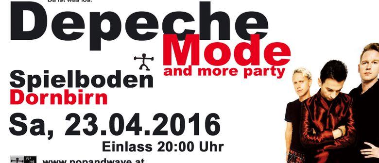29te Depeche Mode & more Party