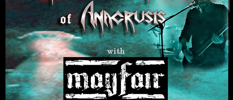 KENN NARDI of Anacrusis (USA) + MAYFAIR - CD Release