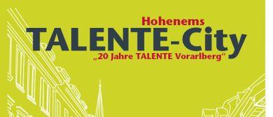 20 Jahre TALENTE Vlbg: TALENTE Talk II
