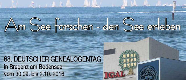 IGAL Forschertreff Mitarbeit Genealogentag Bregenz