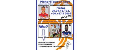 PickerlTauschTage UEFA EURO 2016