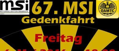 67. MSI - Motorradgedenkfahrt 2016