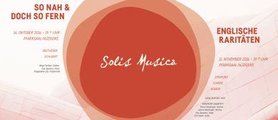 "Solis Musica ""So nah und doch so fern"""