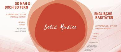 "Solis Musica ""Englische Raritäten"""