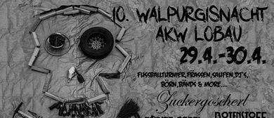 10. Walpurgisnacht am AKW-Lobau Wagenplatz