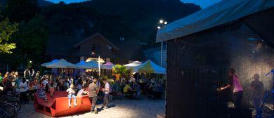 Villa K. Bühne bei der Bludenzer Kulturnacht (Remiseplatz)