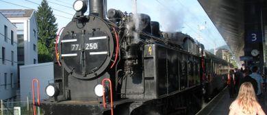 Traditionelle Dampfzugsonderfahrt nach Lindau am 1.Mai 2016