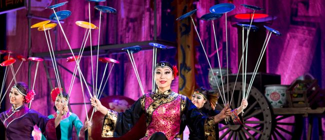 "CHINESISCHER NATIONALCIRCUS - ""The grand HONGKONG HOTEL"""