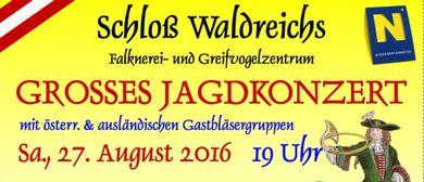 4. Großes Jagdkonzert im Schloß Waldreichs