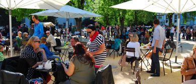 Schlossplatz - ma trifft sich: Französischer Gourmetmarkt