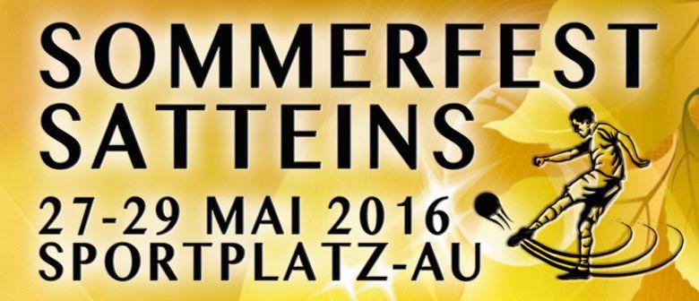 Raiffeisen SV Satteins SOMMERFEST 2016