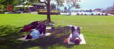 Sommer Yoga mit Claudia Jochum