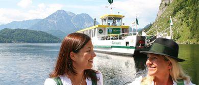Bierzeltflucht auf dem Solarschiff