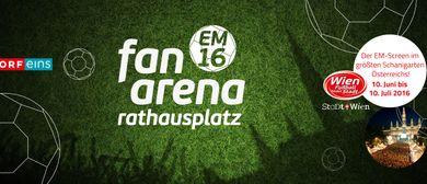 EURO FAN ARENA - Public Viewing @ Rathausplatz