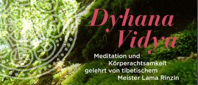 Meditation und Körperachtsamkeit
