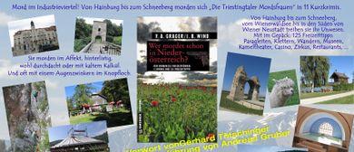 """Buchpräsentation """"Wer mordet schon in Niederösterreich"""""""