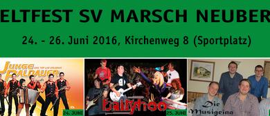 Zeltfest SV Marsch Neuberg