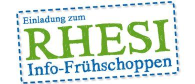 RHESI-Info-Frühschoppen