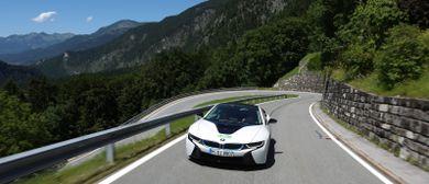 Silvretta E-Auto Rallye 2016 in Damüls