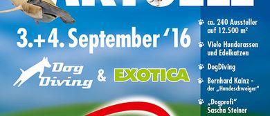 HAUSTIER AKTUELL + EXOTICA  03. – 04. September 2016
