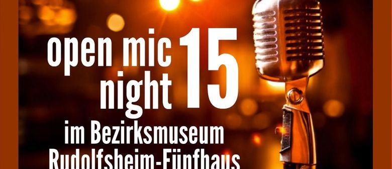Open Mic Night 15