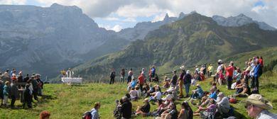 Bergmesse mit Pfarrer Otto Krepper