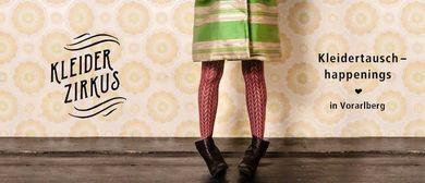 Kleiderzirkus - Kleidertauschhappening beim poolbar Festival
