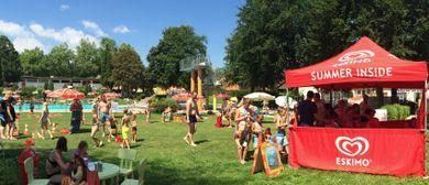 Die ESKIMO Spaß-Tour kommt ins Freibad Schwanenstadt!