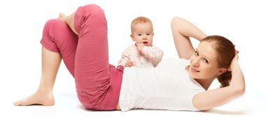 Mama AKTIV mit Baby