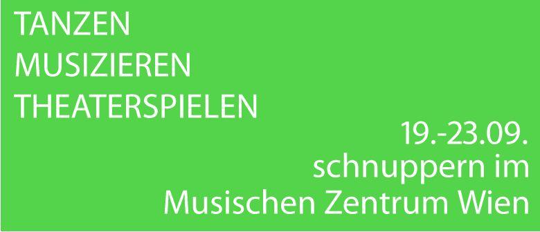 Schnupperwoche im Musischen Zentrum Wien