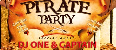 Captain Morgan Pirate Party mit DJ One